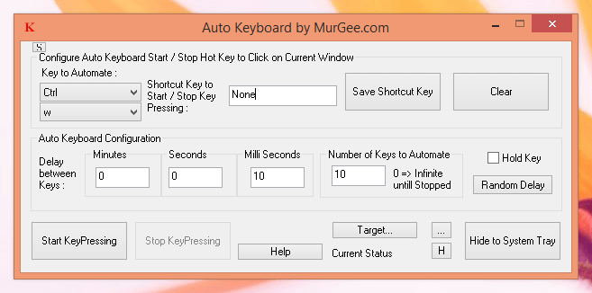 Auto Keyboard by MurGee.com
