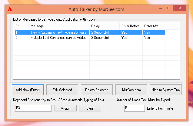 Auto Talker by MurGee.com