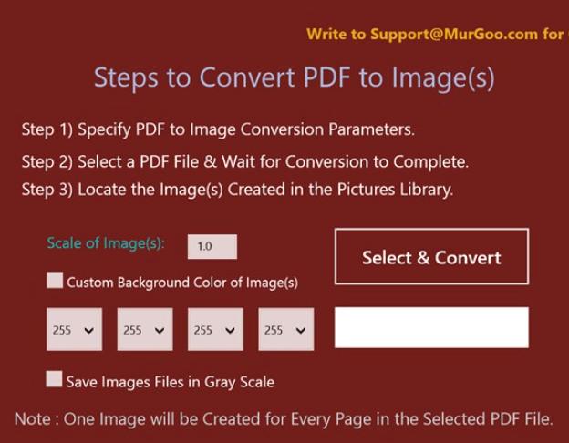 PDF to Image