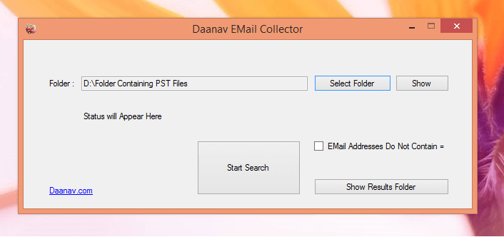 Free EMail Collector Software