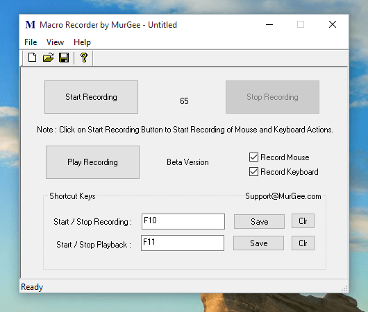 Macro Recorder for Games