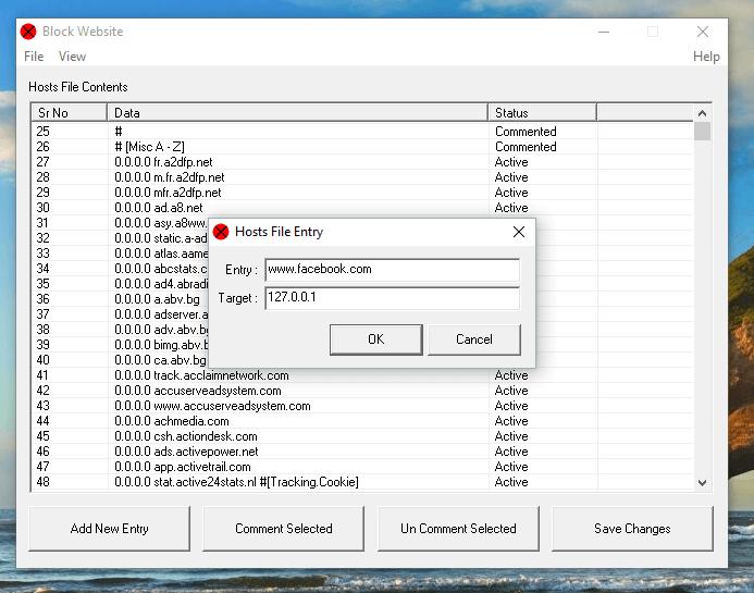 Block a Website with Block Website Software